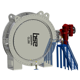 Dual Seal High Pressure Butterfly Valve
